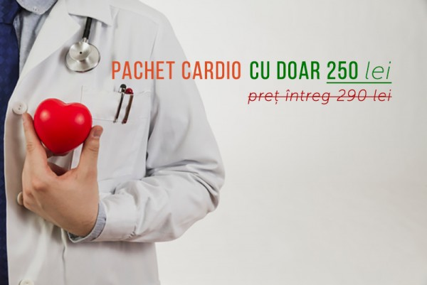 Ofertă Cardiologie: Vino la un consult și primești următorul control gratuit
